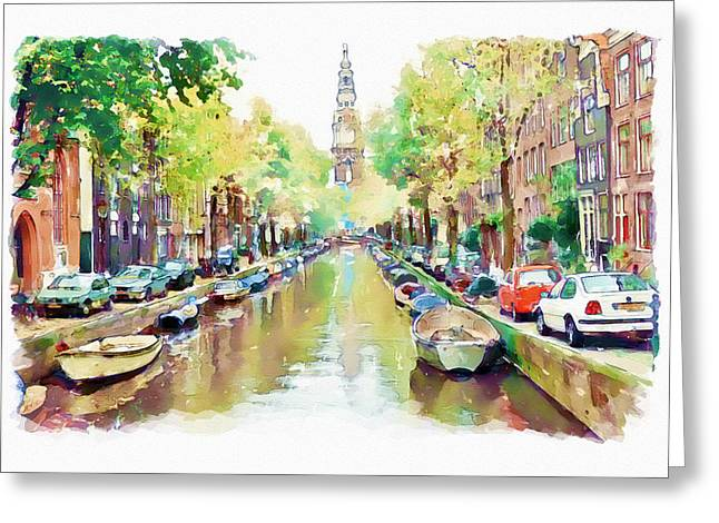 Amsterdam Canal 2 Greeting Card