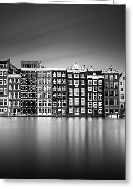 Amsterdam, Damrak I Greeting Card