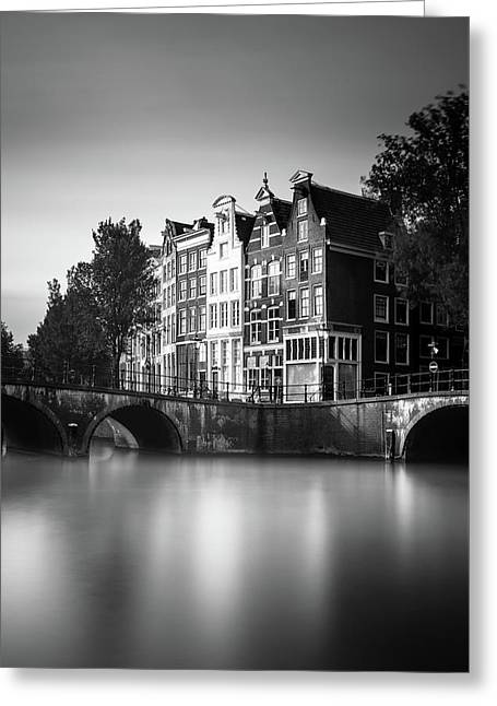 Amsterdam, Keizersgracht Greeting Card