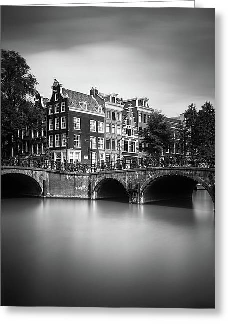 Amsterdam, Leliegracht Greeting Card