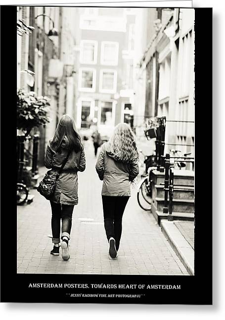 Amsterdam Posters. Towards Heart Of Amsterdam Greeting Card
