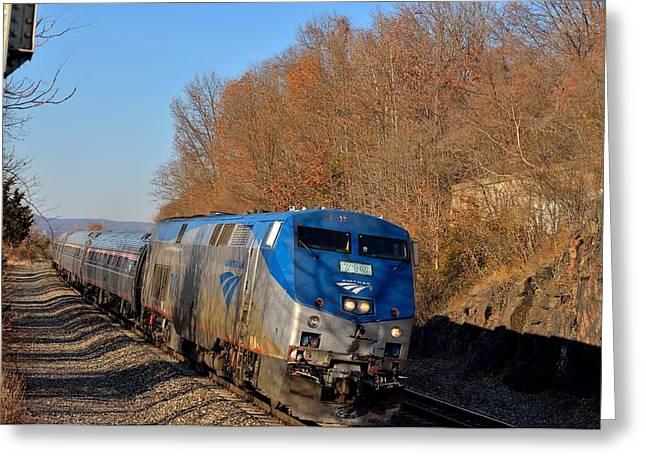 Amtrak 710 Greeting Card