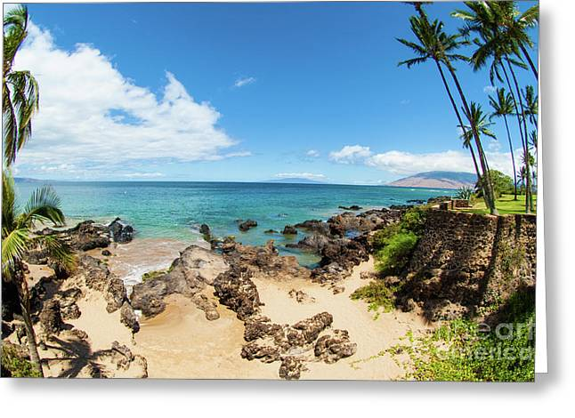 Greeting Card featuring the photograph Amzing Beach In Hawaii Islands by Micah May