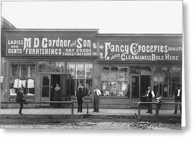 An 1890 General Store Greeting Card
