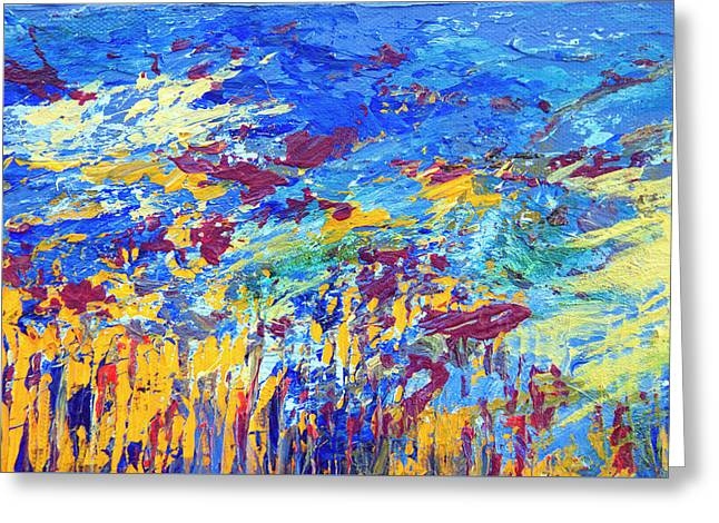 An Abstract Vision Under The Sea Greeting Card