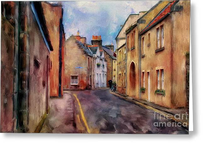 An Afternoon In St Andrews Greeting Card by Lois Bryan