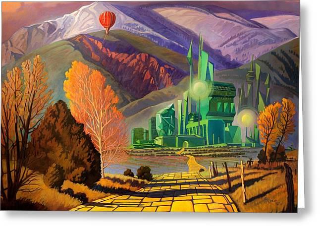 Oz, An American Fairy Tale Greeting Card