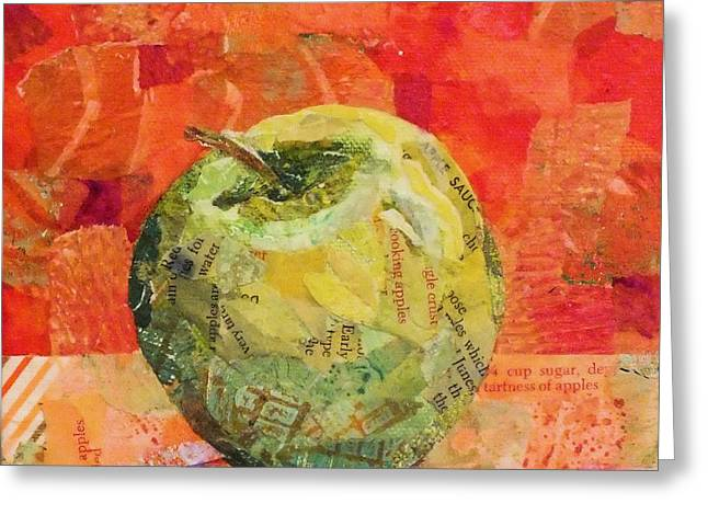 An Apple For Granny Greeting Card