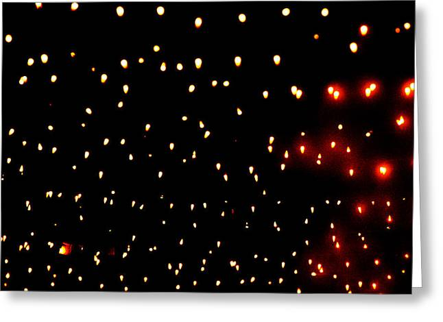An Aproximation Of Stars Greeting Card by Richard Henne