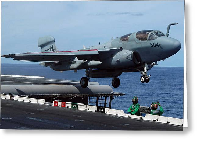 An Ea-6b Prowler Launches Greeting Card by Stocktrek Images
