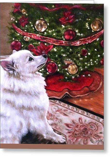 An Eskie Christmas Greeting Card