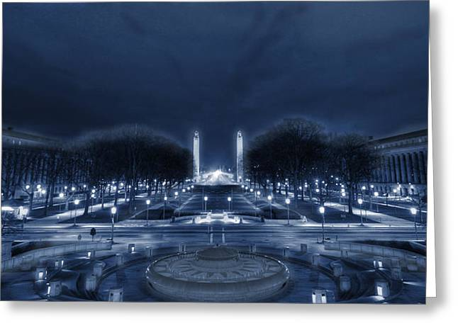 An Evening At The Capitol Greeting Card