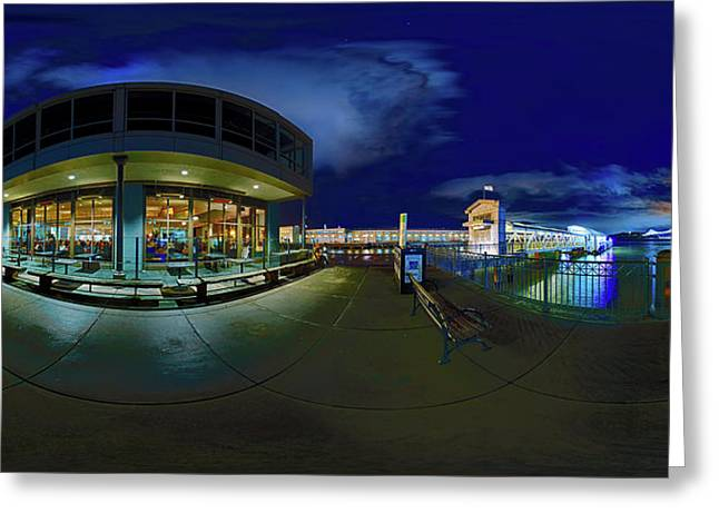An Evening By The Bay - San Francisco Greeting Card by Ralph Nas