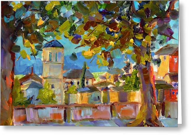 An Evening In Assisi Greeting Card