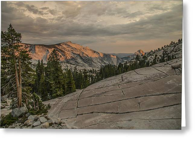 An Evening On Olmstead Point - Pt 2 Greeting Card