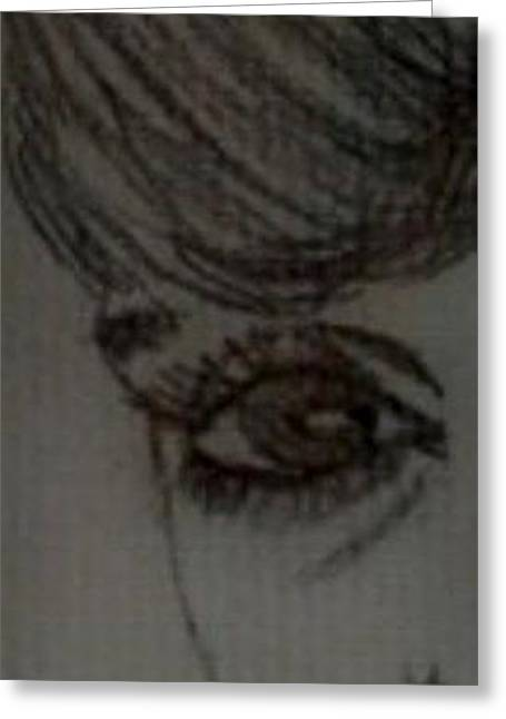 An Eye On You Greeting Card by Leslye Miller