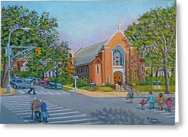 An Historical Church Greeting Card