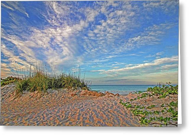 An Invitation - Florida Seascape Greeting Card