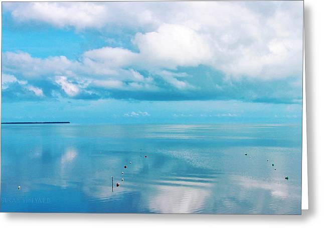 An Ocean Like Glass Greeting Card