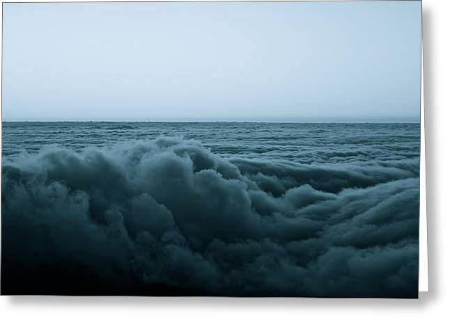 An Ocean Of Clouds Greeting Card