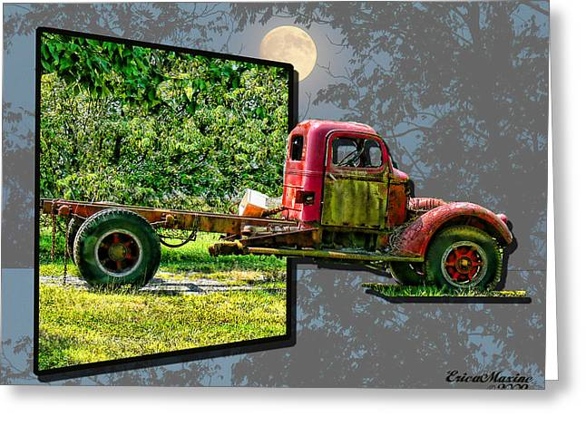 Greeting Card featuring the photograph An Old Relic by EricaMaxine  Price
