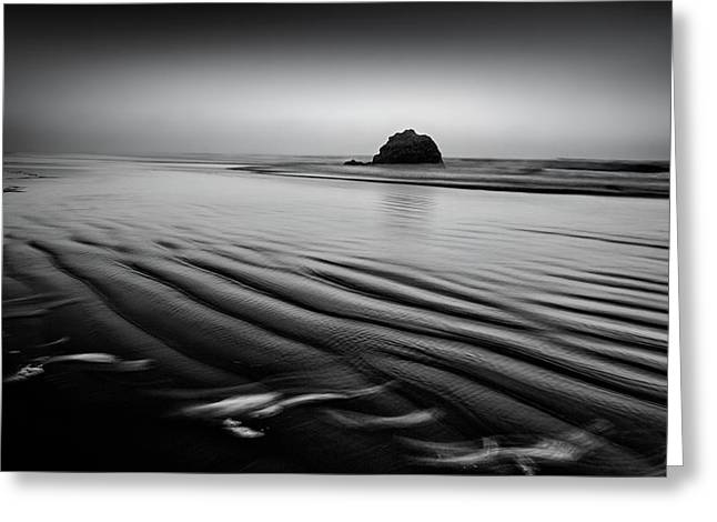 Greeting Card featuring the photograph An Oregon Morning by Jon Glaser