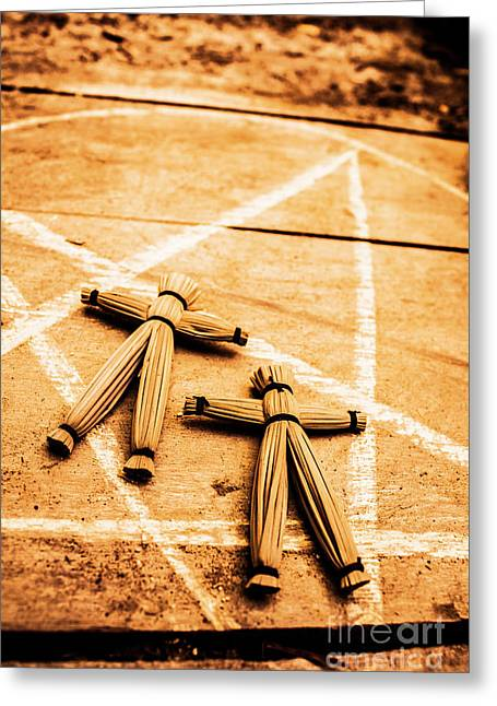 An Unholy Alliance Greeting Card by Jorgo Photography - Wall Art Gallery