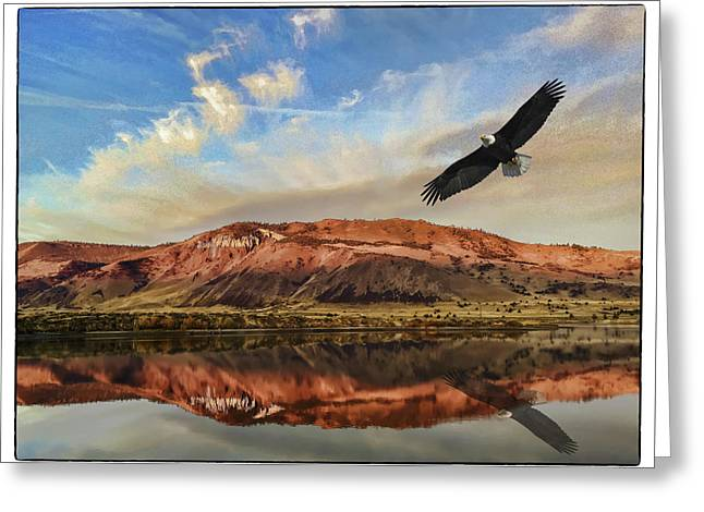 Ana Reservoir  Summer Lake Greeting Card by John Williams