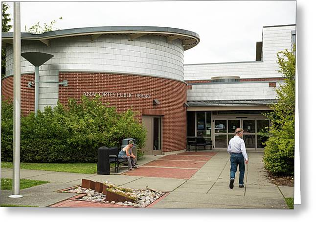 Anacortes Public Library Greeting Card