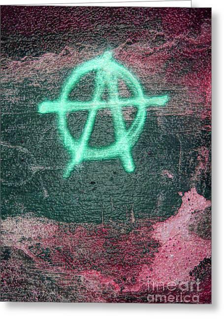 Anarchy In Tallinn Greeting Card