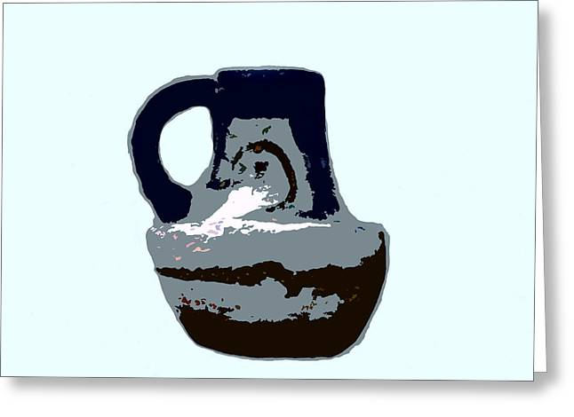 Anasazi Jug Greeting Card by David Lee Thompson