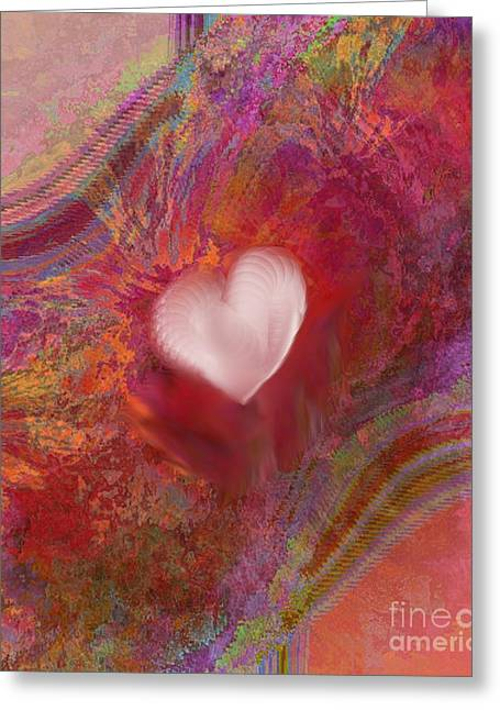 Anatomy Of Heart Greeting Card