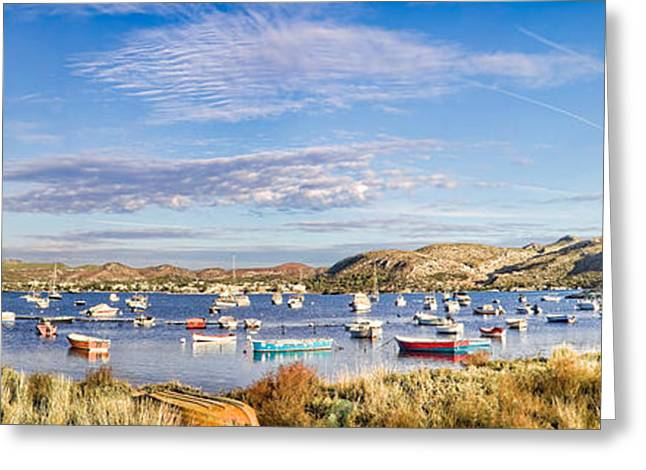 Anavyssos Bay Greeting Card by Gabriela Insuratelu