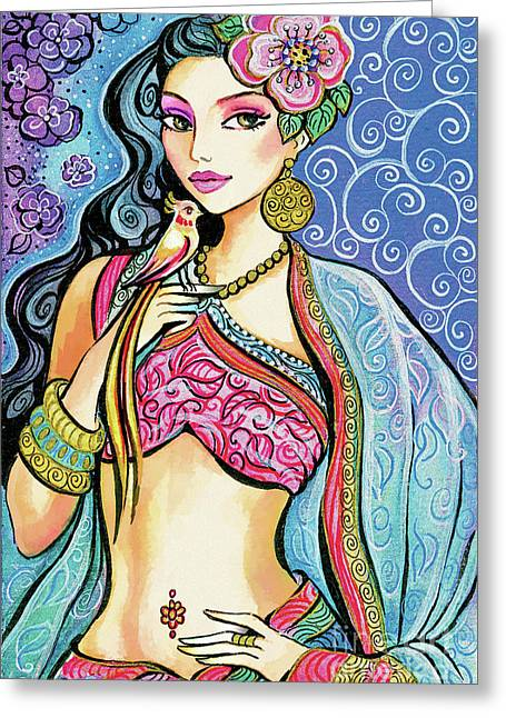 Anchita Greeting Card