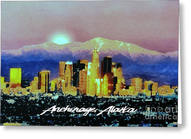 Anchorage-subdued Greeting Card