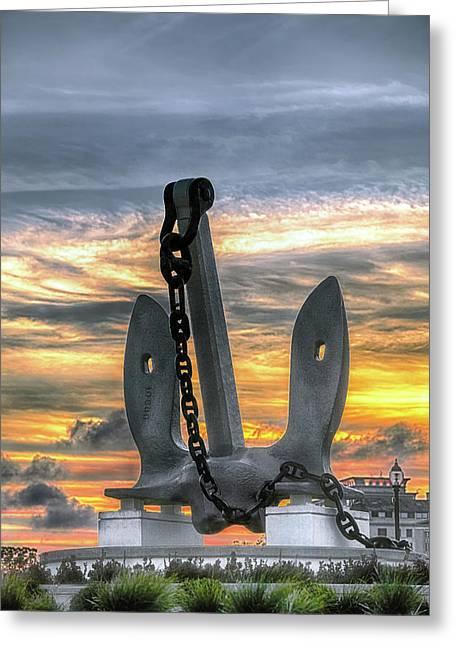 Anchors Away Greeting Card