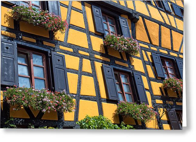 Ancient Alsace Auberge Greeting Card