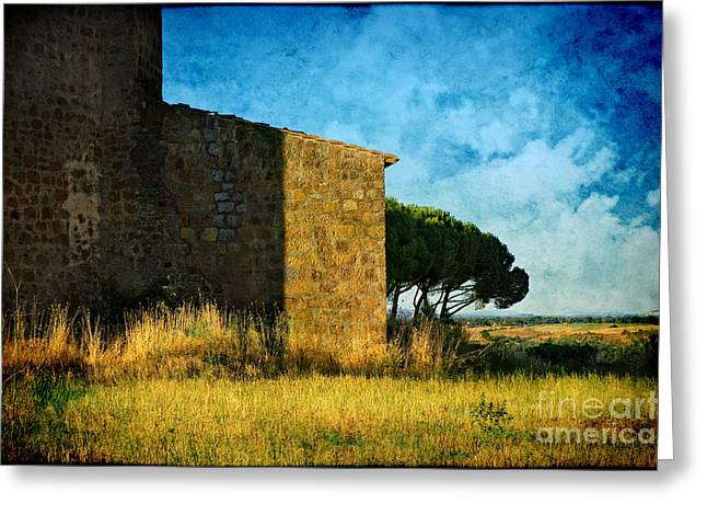 Ancient Church - Italy Greeting Card