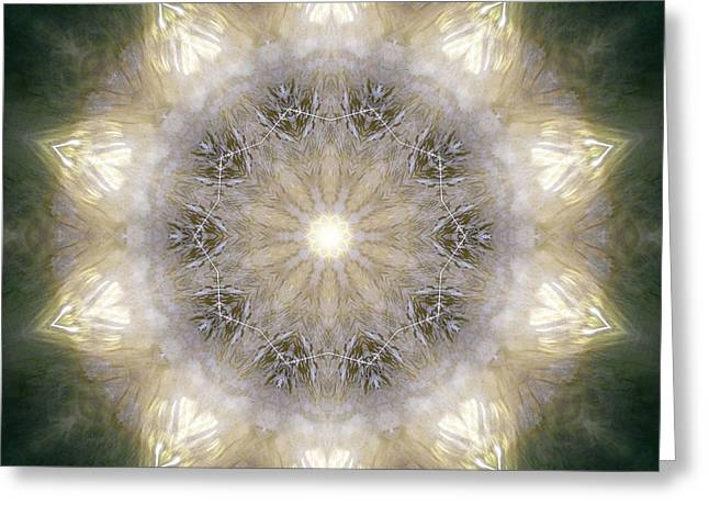 Ancient Light X Greeting Card by Lisa Lipsett