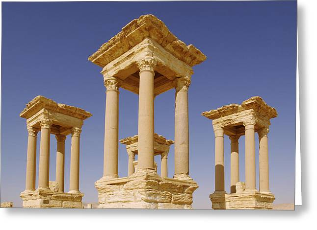 Ancient Palmyra Greeting Card