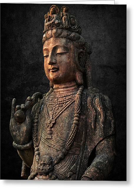 Ancient Peace Greeting Card by Daniel Hagerman