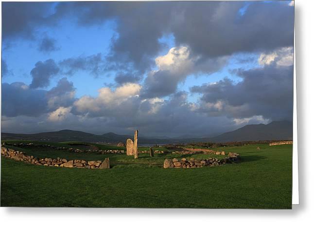 Ancient Standing Stones Greeting Card by Aidan Moran