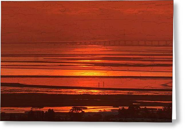Greeting Card featuring the photograph And The Sea May Look Warm To You Babe by Peter Thoeny