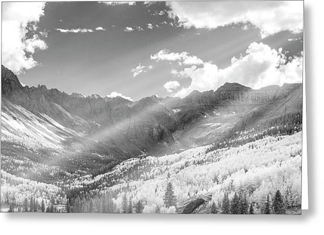 Greeting Card featuring the photograph And You Feel The Scene by Jon Glaser