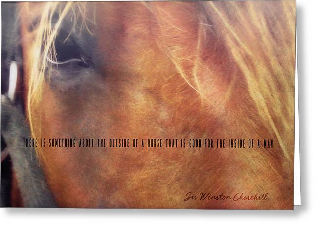Andalusian Eye Quote Greeting Card