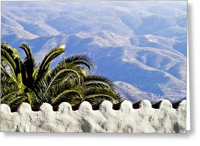 Andalusian View Greeting Card by Heiko Koehrer-Wagner