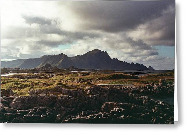 Andenes Greeting Card by Gregory Barger