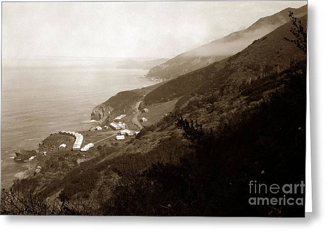 Anderson Creek Labor Camp Big Sur April 3 1931 Greeting Card