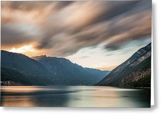 Greeting Card featuring the photograph Anderson Lake Dreamscape by Pierre Leclerc Photography