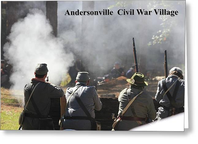 Andersonville Civil War Village Greeting Card